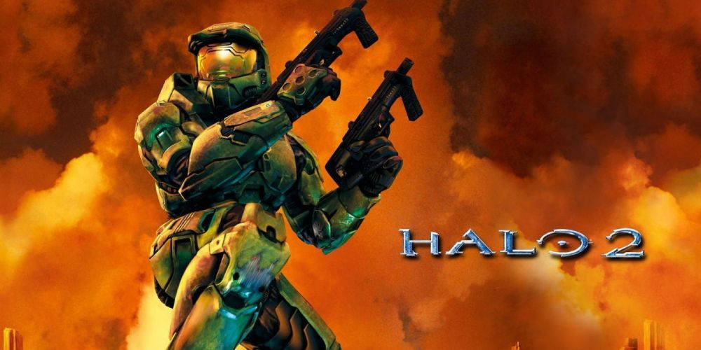 HALO shooter fps action fighting warrior sci-fi futuristic armor cyborg robot poster wallpaper