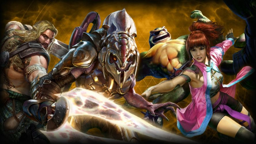 KILLER INSTINCT fighting fantasy action warrior sci-fi arena mmo online wallpaper