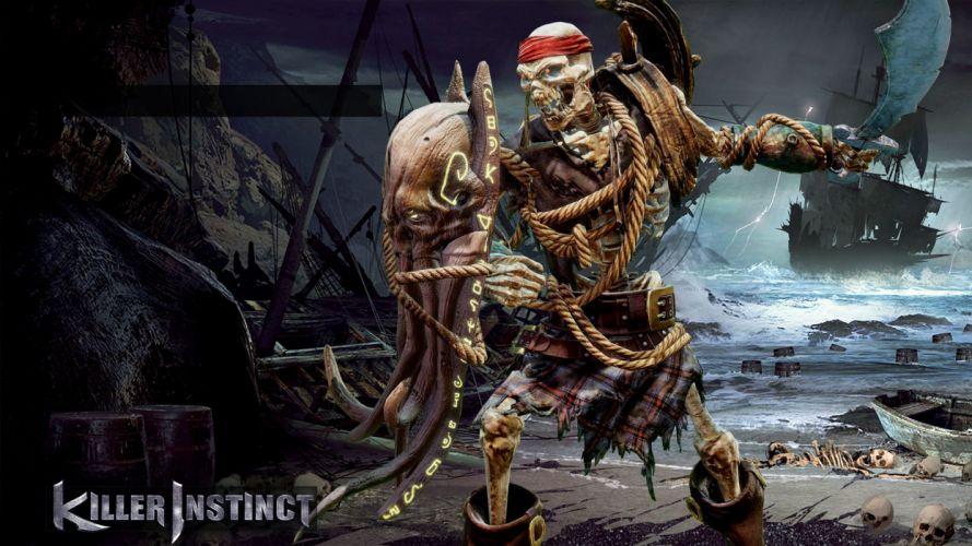 KILLER INSTINCT fighting fantasy action warrior sci-fi arena mmo online poster wallpaper