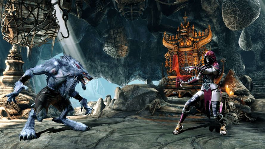 KILLER INSTINCT fighting fantasy action warrior sci-fi arena mmo online wallpaper