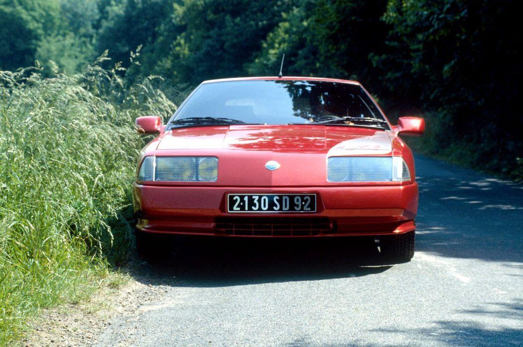 Renault Alpine GTA V6 Turbo Mille Miles cars 1989 wallpaper