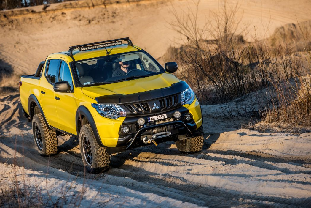Mitsubishi L200 Monster Concept cars pickup  wallpaper