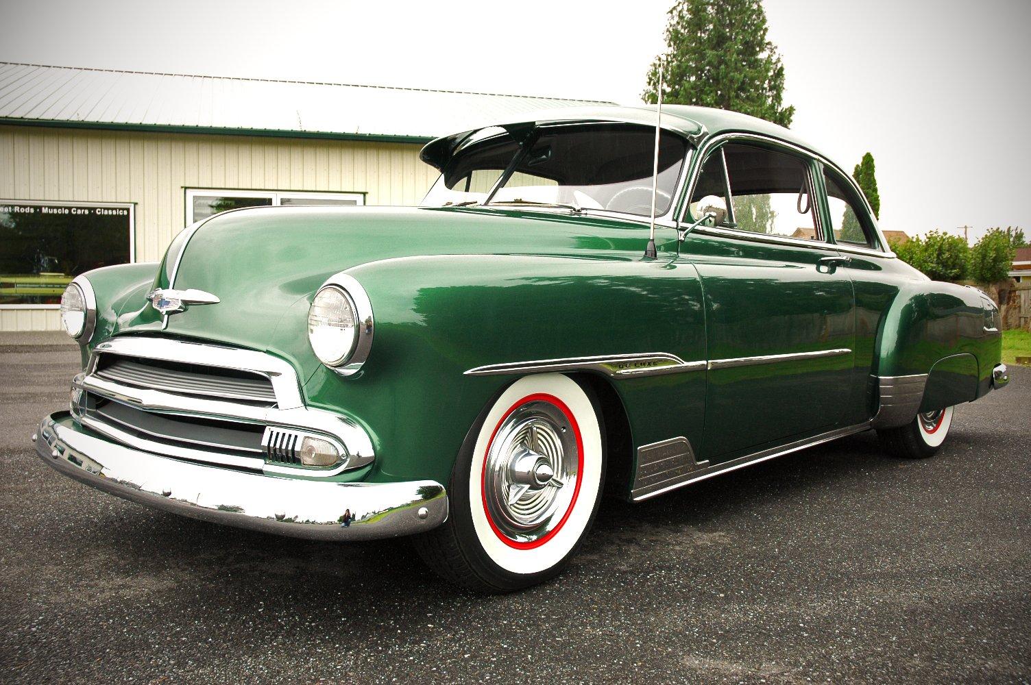 1951 Chevrolet Deluxe Coupe Custom Hotrod Hot Rod Old School Usa 1500x1000 11 Wallpaper 1504x1000 926460 Wallpaperup