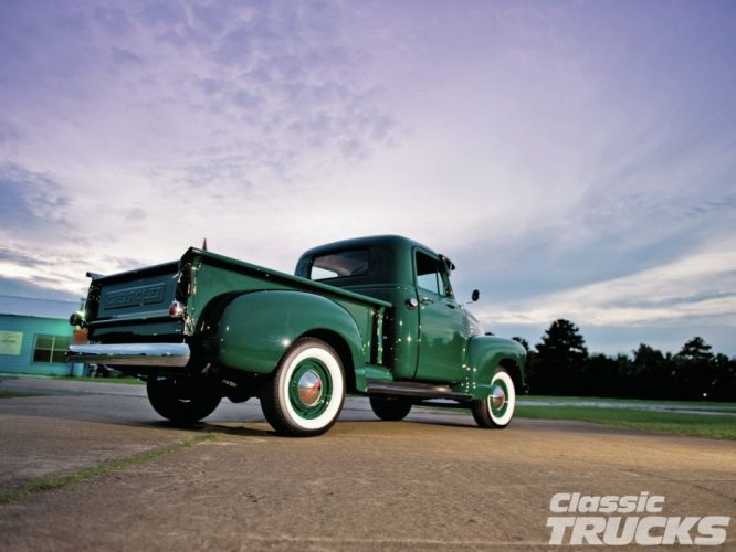 1951 Chevrolet 3100 Pickup Classic Old Vintage USA 1600x1200-02 wallpaper