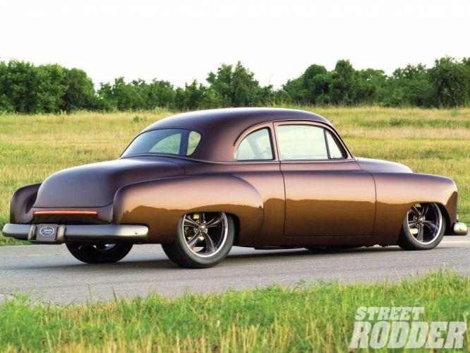 1951 Chevrolet Business Coupe Hotrod Streetrod Hot Rod Street USA 1600x1200-03 wallpaper