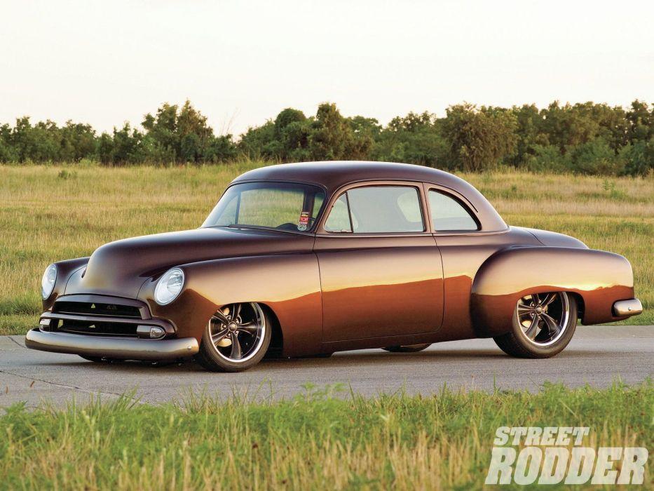 1951 Chevrolet Business Coupe Hotrod Streetrod Hot Rod Street USA 1600x1200-01 wallpaper