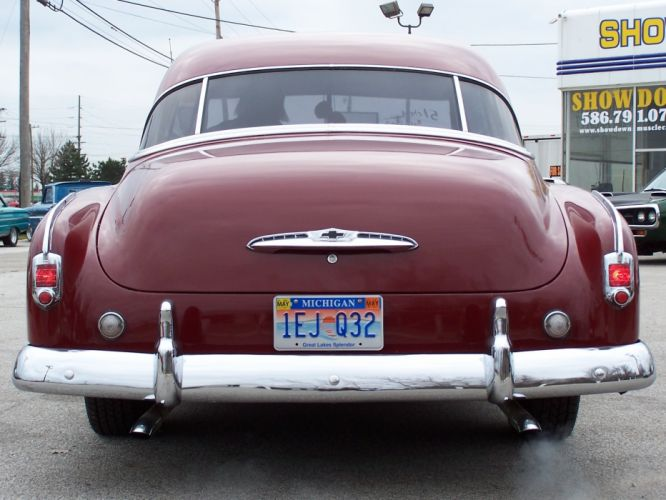 1951 Chevrolet Deluxe Coupe Classic Old Vintage USA 1656x1242-04 wallpaper