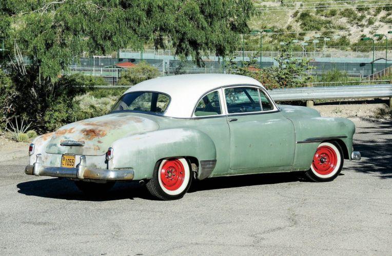1951 Chevrolet Deluxe Coupe Hotrod Hot Rod Custom Old School USA 2048x1340-02 wallpaper