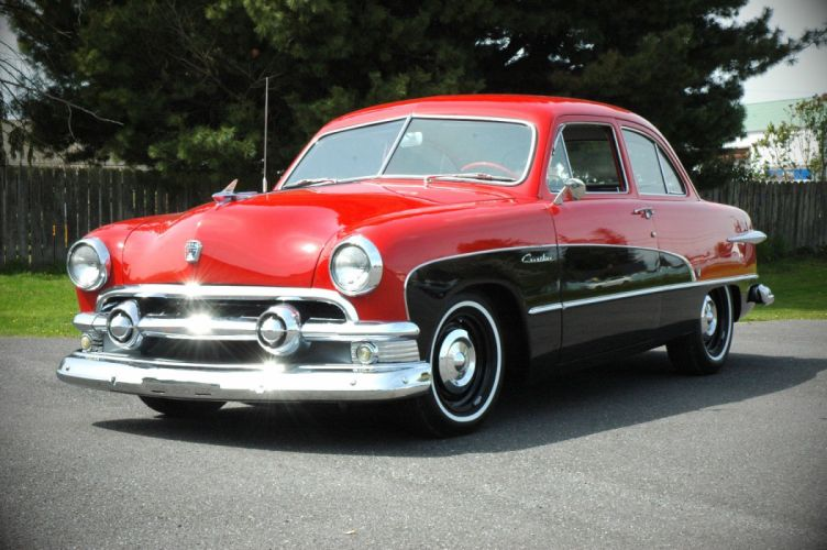 1951 Ford Crestline Custom Coupe Classic Old Vintage USA 1500x1000 -03 wallpaper
