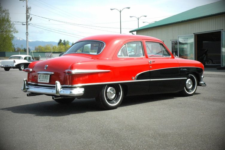 1951 Ford Crestline Custom Coupe Classic Old Vintage USA 1500x1000 -07 wallpaper
