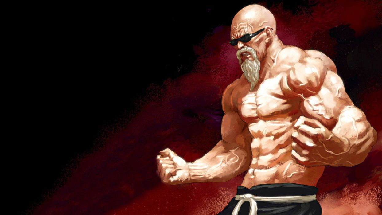 hero anime character muscular body wallpaper