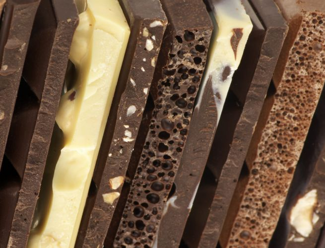chocolate background types varieties cut sweets wallpaper