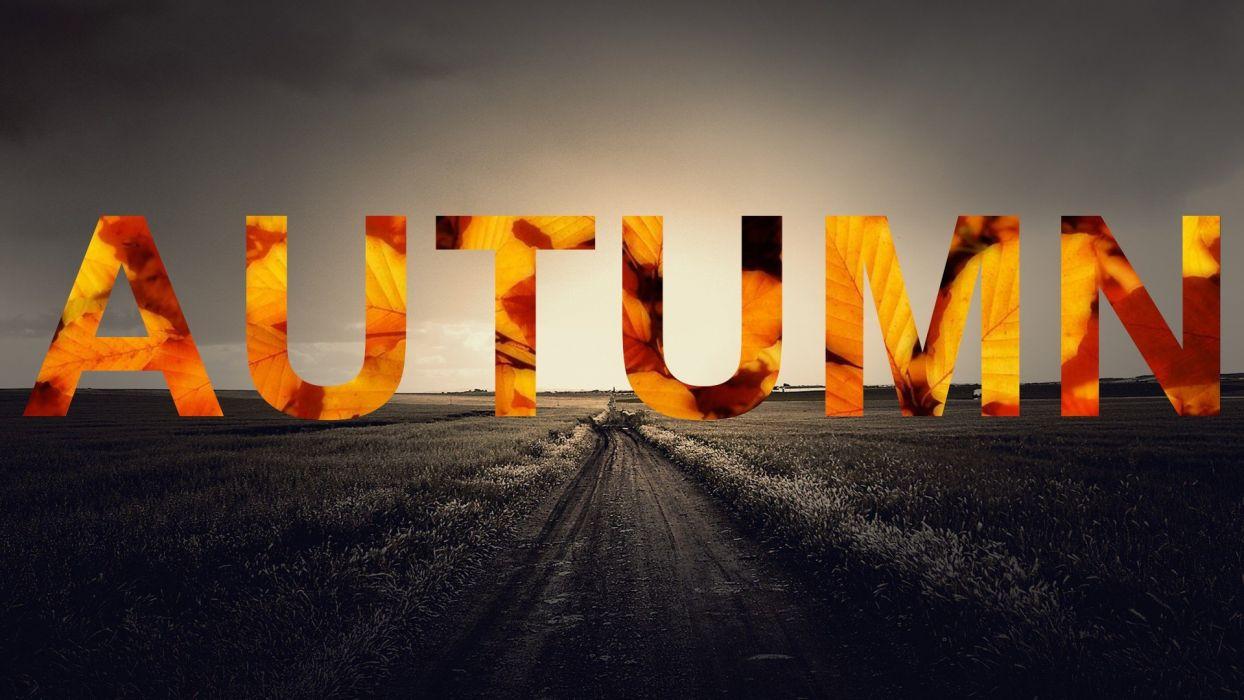 abstracto texto autumn wallpaper