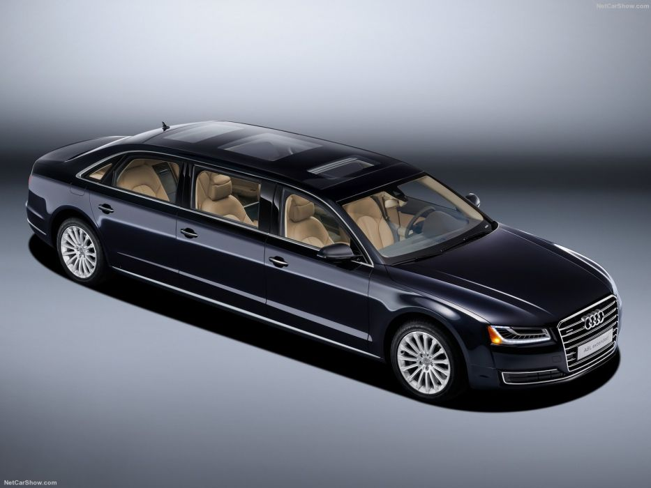 Audi A8 L Extended cars limo 2016 wallpaper