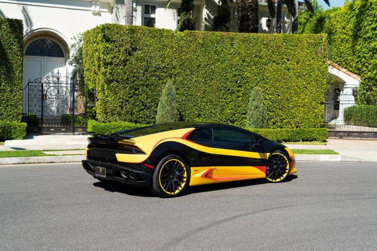 Wrapped Lamborghini Huracan cars wallpaper