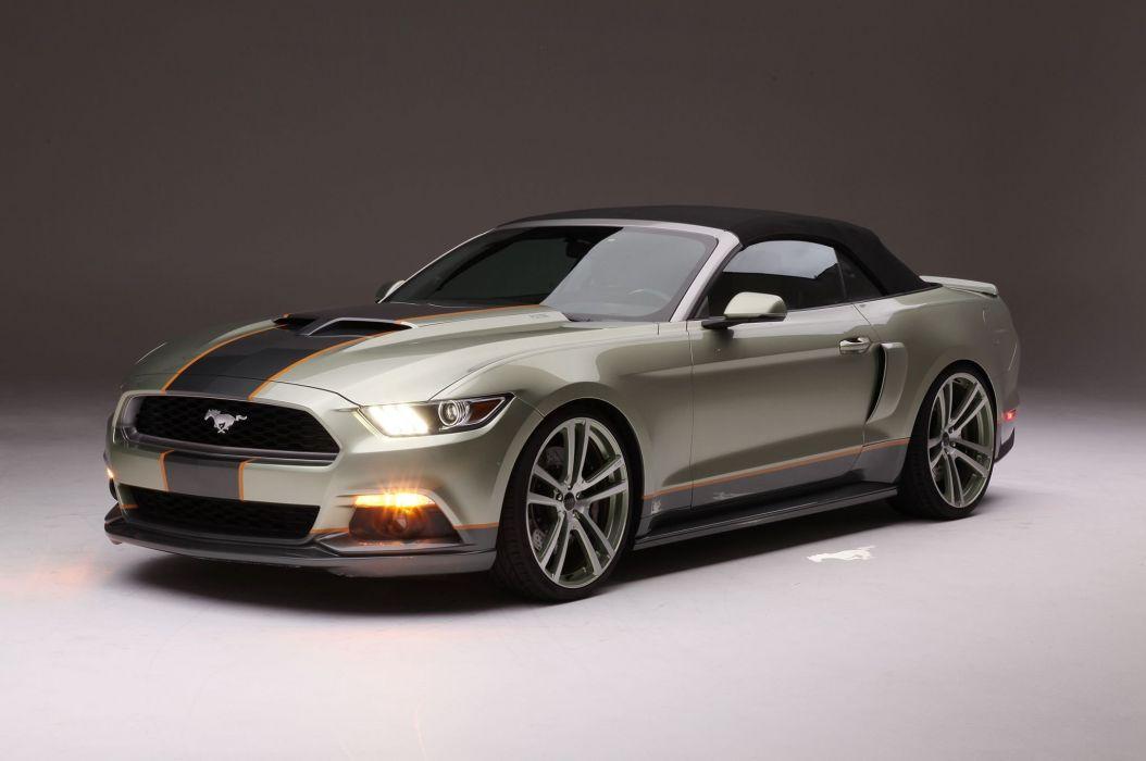 2015 Mustang S550 Convertible cars modified Chip Foose wallpaper