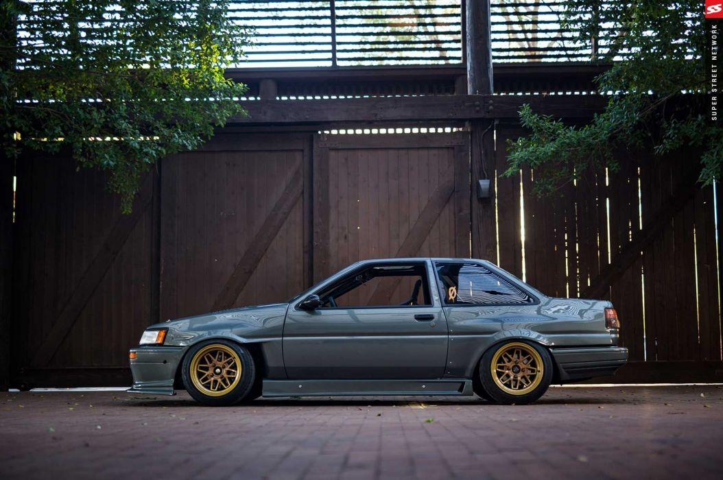 1986 toyota corolla ae86 cars modified wallpaper