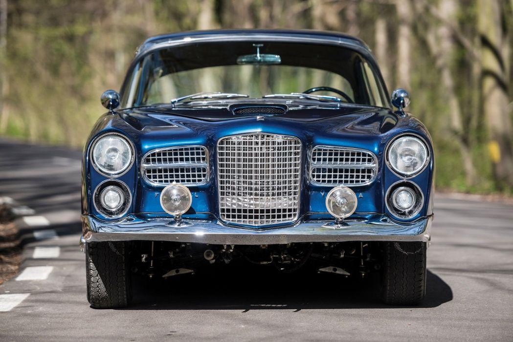 Facel Vega HK500 cars coupe blue classic 1959 wallpaper