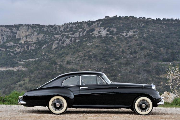 Bentley R-Type Continental Sports Saloon Mulliner classic 1953 wallpaper
