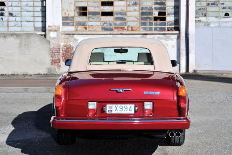 Rolls-Royce Corniche IV convertible cars 1992 wallpaper