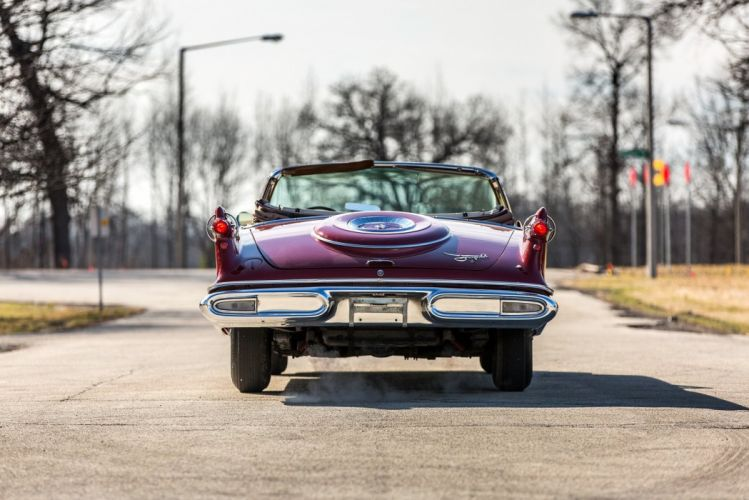 1958 Imperial Crown Convertible cars classic wallpaper