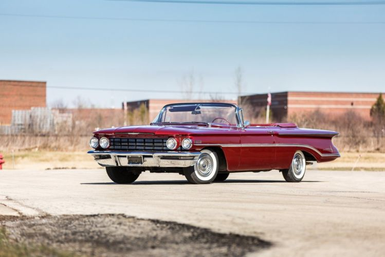 1960 Oldsmobile 98 Convertible cars classic wallpaper
