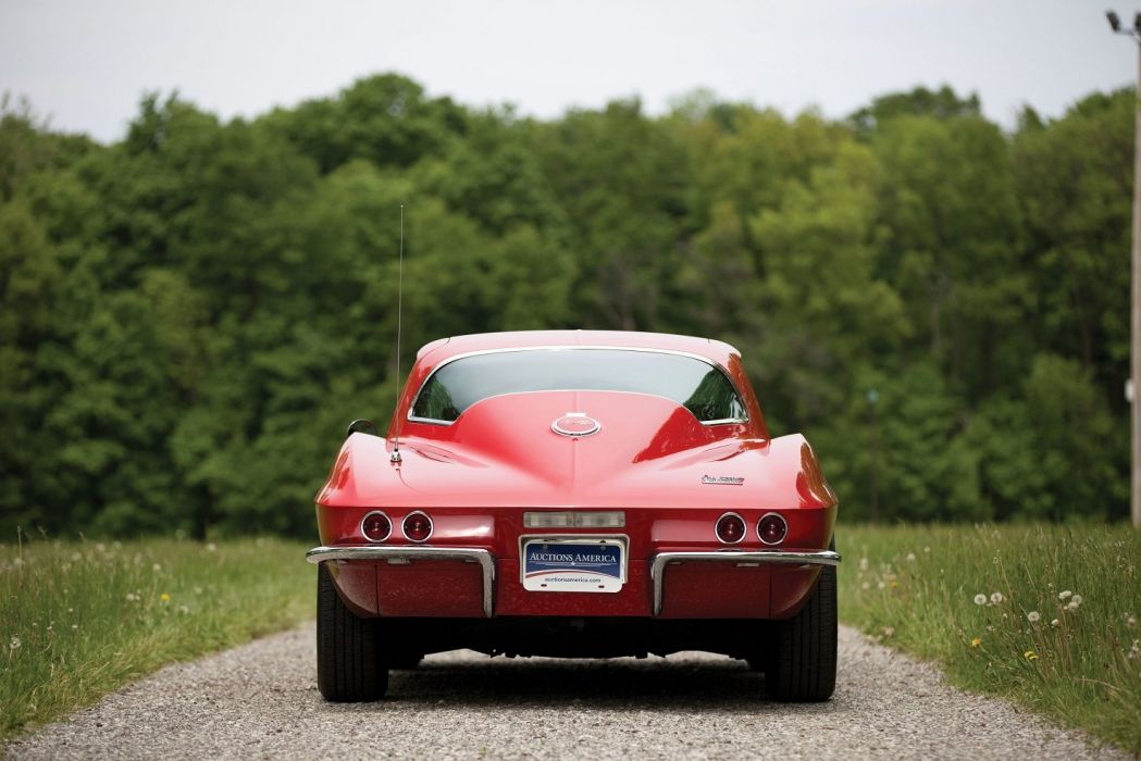 1967 Chevrolet Corvette Sting Ray L68 427 400 HP cars red classic wallpaper