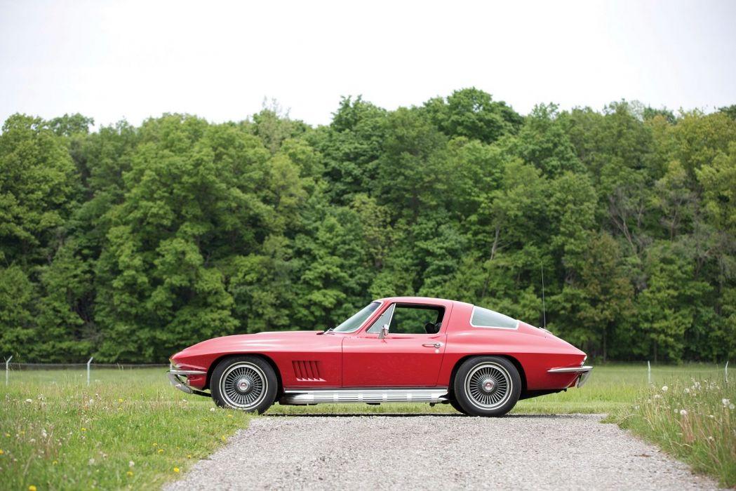 1967 Chevrolet Corvette Sting Ray L68 427 400 HP cars red classic wallpaper