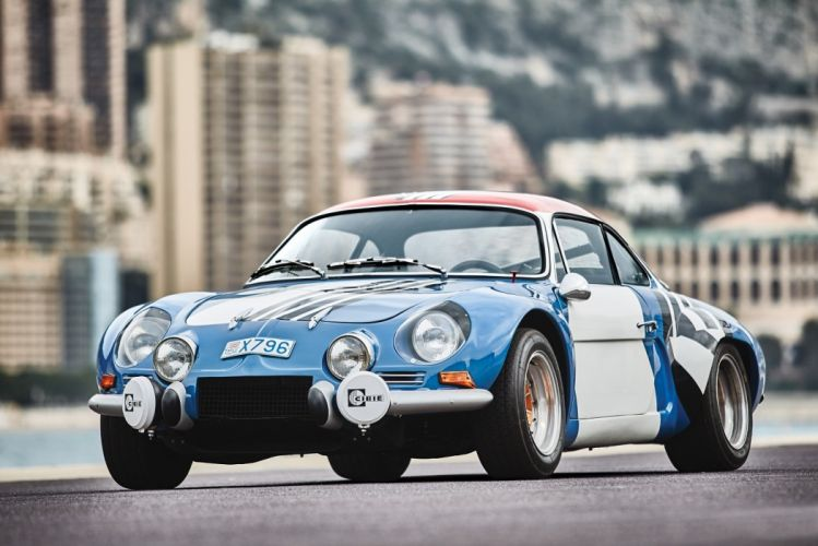 Renault Alpine A110 1800 Group IV cars racecars 1973 wallpaper