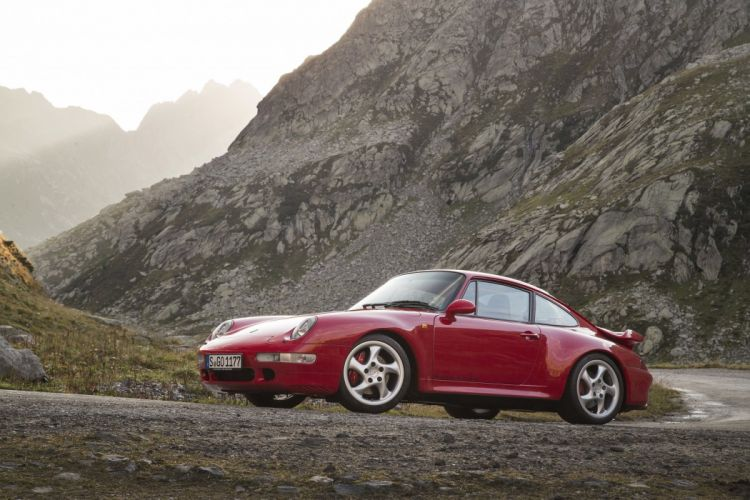 Porsche 911 Turbo Coupe (993) 1995 1998 cars wallpaper