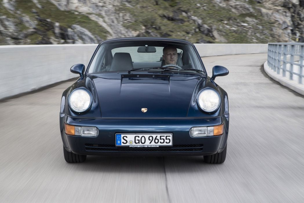Porsche 911 Turbo Coupe (964) 1990 cars wallpaper
