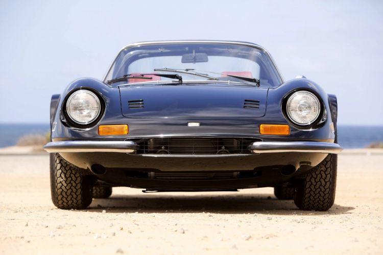 Dino 246 GTS classic cars 1972 wallpaper