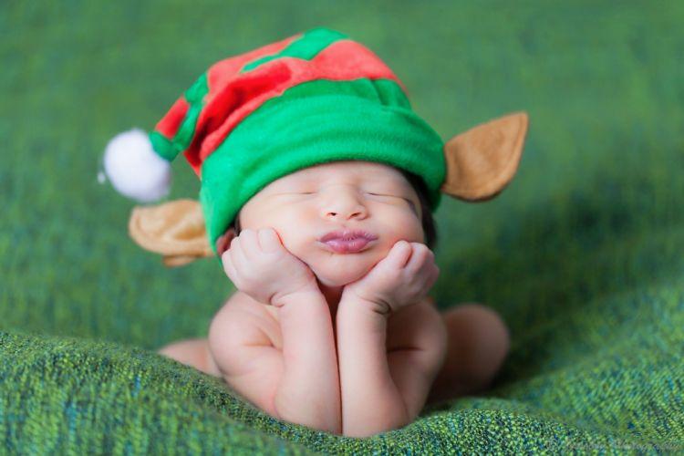 child elf face cute funny wallpaper