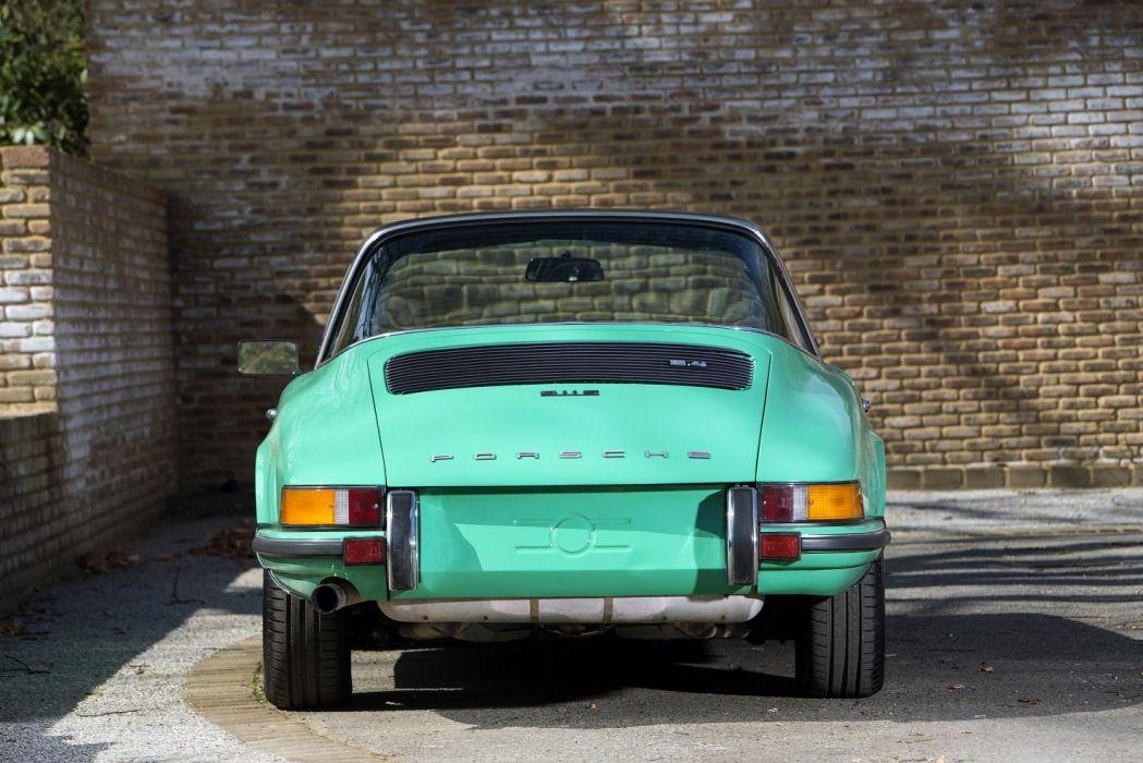 Porsche 911 S Targa cars 1971 wallpaper
