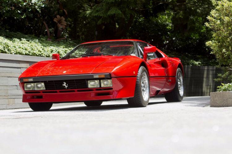 Ferrari 288 GTO cars supercars red 1984 wallpaper