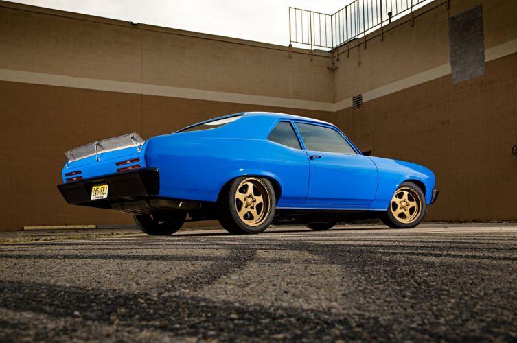 1972 Pontiac Ventura cars blue modified classic wallpaper