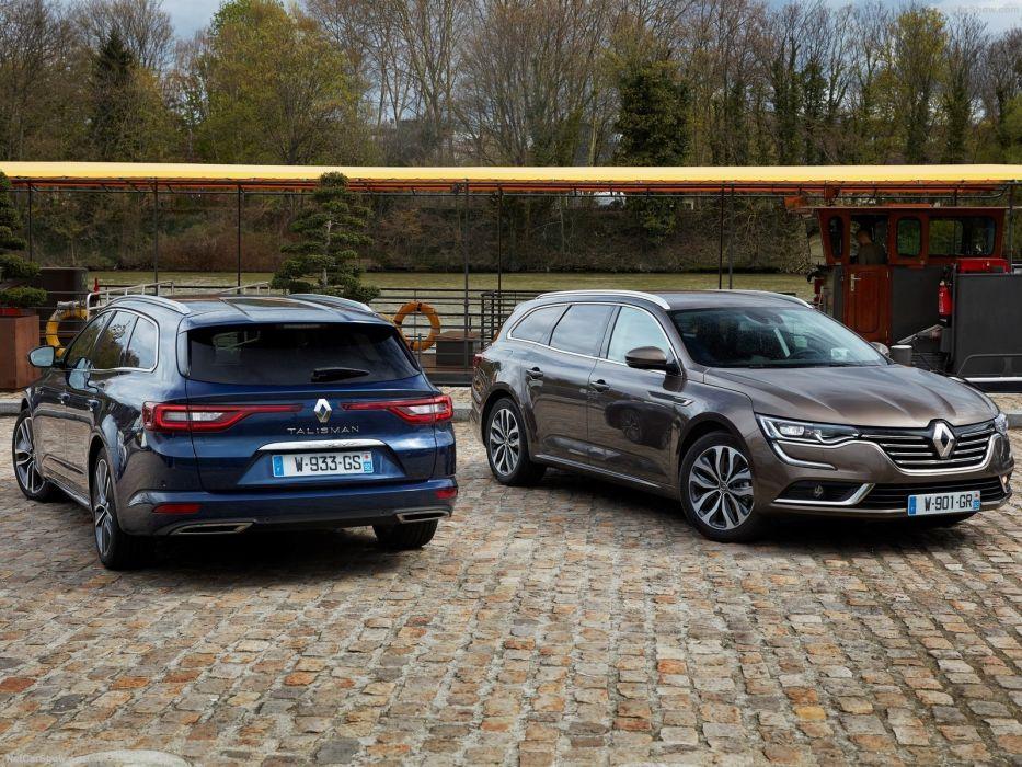 Renault Talisman Estate wagon cars 2016 wallpaper