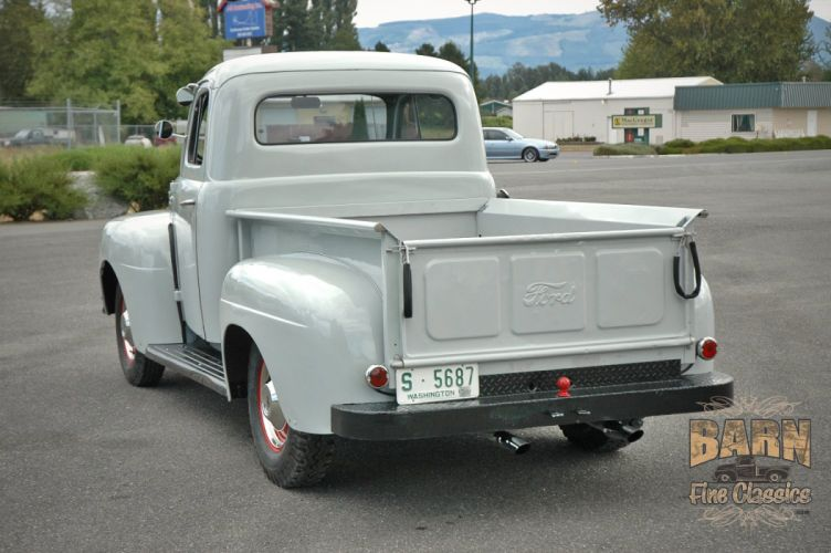 1951 Ford F1 Pickup Classic Old Vintage USA 1500x1000-03 wallpaper