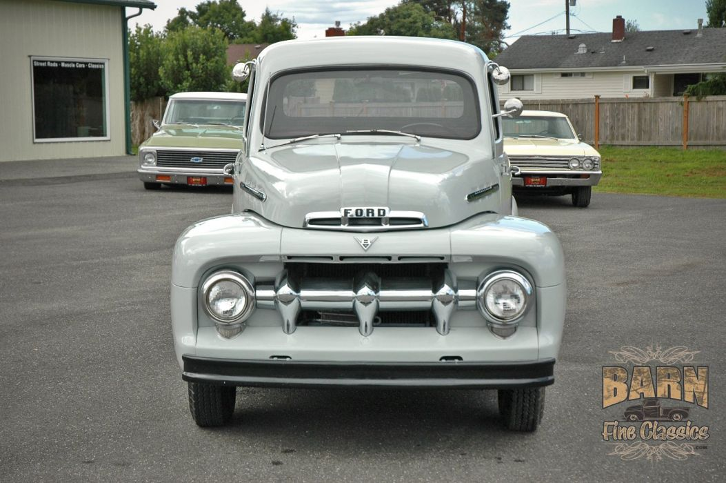1951 Ford F1 Pickup Classic Old Vintage USA 1500x1000-07 wallpaper