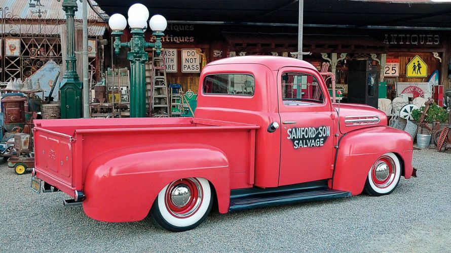 1951 Ford F1 Pickup Custom Hot Rod Old School USA 1500x1000-02 wallpaper