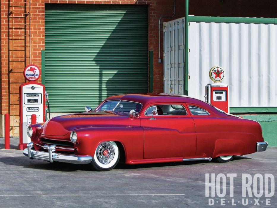 1951 Mercury Custom Kustom Hotrod Hot Rod Old School USA 1600x1200-01 wallpaper