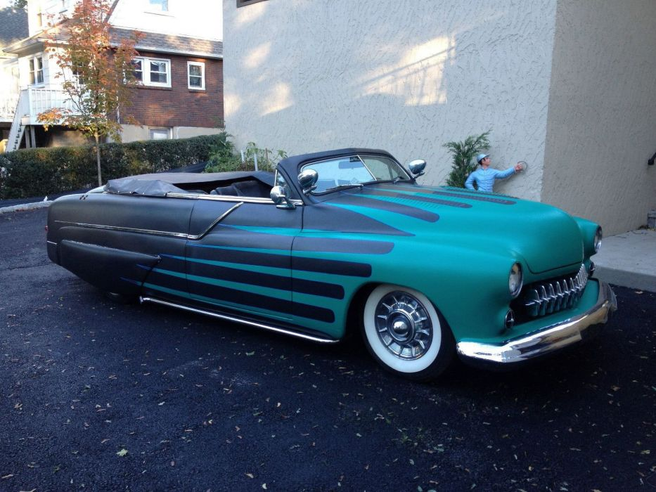 1951 Mercury Custom Kustom Hotrod Hot Rod Old School USA 1600x1200-06 wallpaper