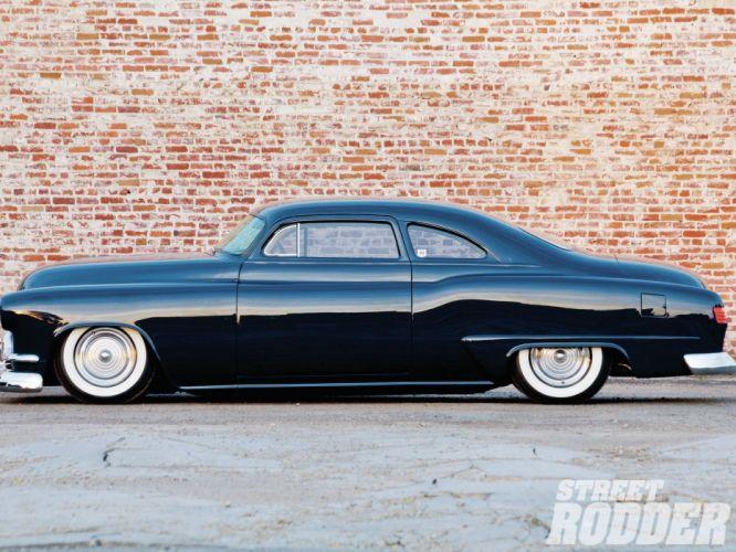 1951 Oldsmobile Coupe Custom Kustom Old School USA 1600x1200-01 wallpaper