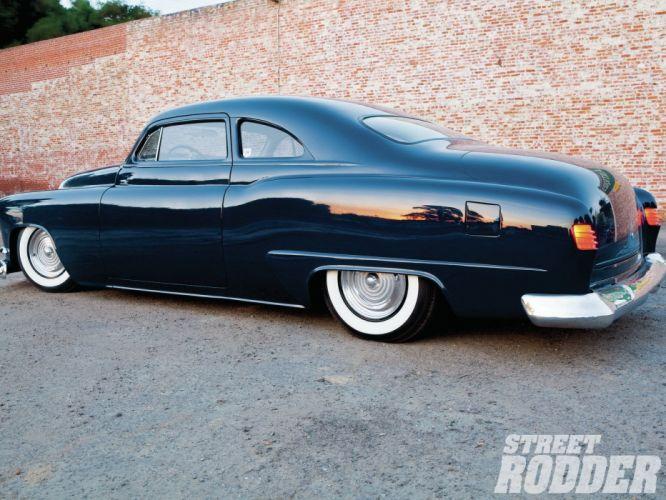 1951 Oldsmobile Coupe Custom Kustom Old School USA 1600x1200-02 wallpaper