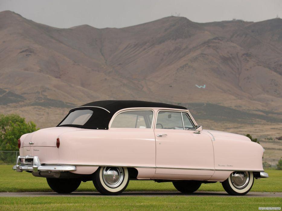 1951 Nash Rambler Custom Convertible Landau Classic Old Vontage USA 2048x1536-02 wallpaper