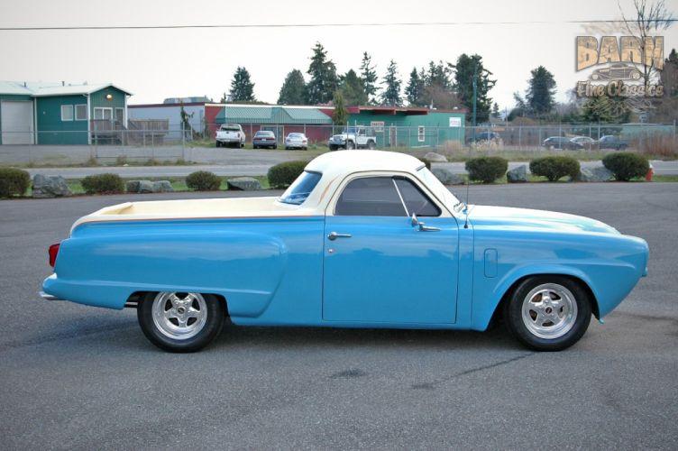 1951 Studebaker Commander Pickup Hotrod Streetrod Hot Rod Street USA 1500x1000-04 wallpaper
