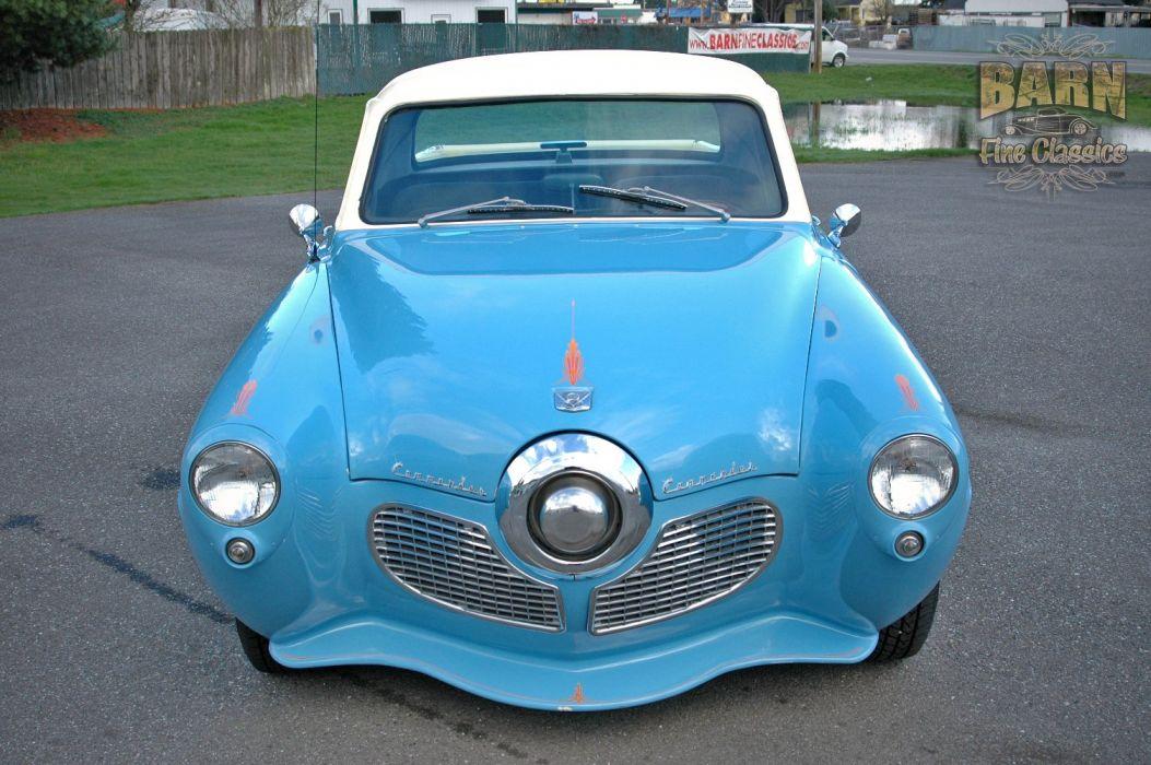 1951 Studebaker Commander Pickup Hotrod Streetrod Hot Rod Street USA 1500x1000-17 wallpaper