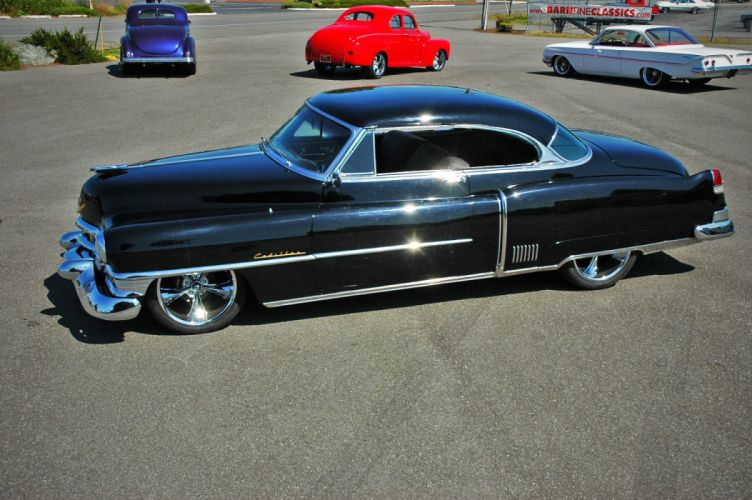 1952 Cadillac Series 62 Coupe Hotrod Streetrod Hot Rod Street USA 1500x12000-03 wallpaper