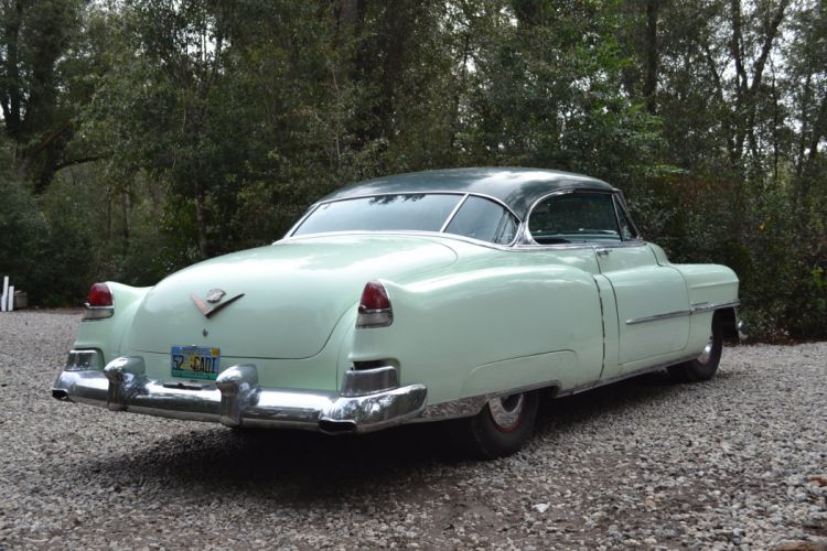 1952 Cadillac Series 62 Coupe Classic Old Vintage USA 2000x1333-03 wallpaper