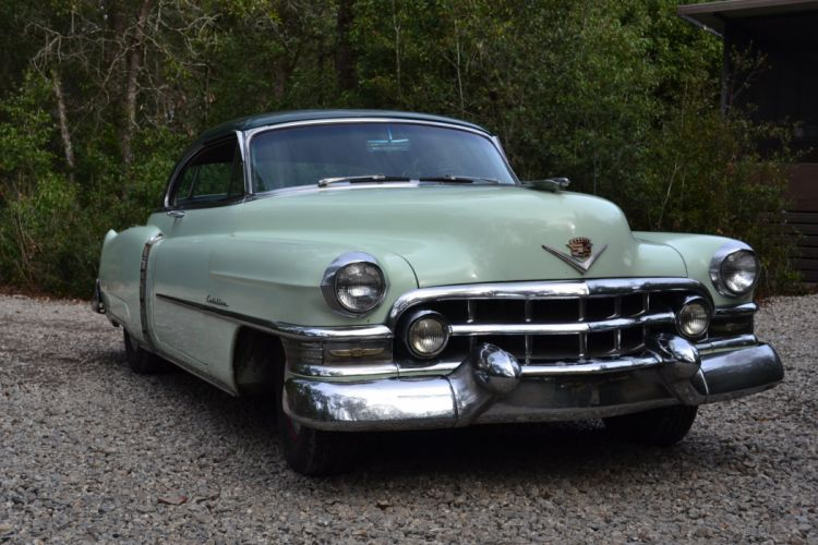 1952 Cadillac Series 62 Coupe Classic Old Vintage USA 2000x1333-01 wallpaper